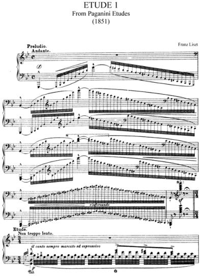 LisztPaganiniEtudeNo1