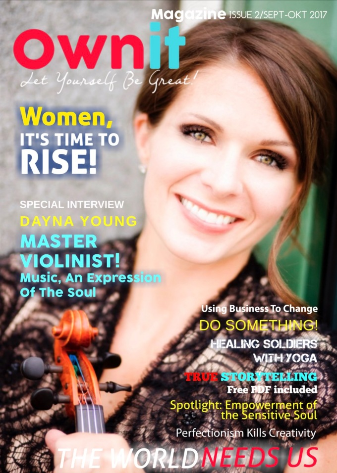 Ownit Magazine Cover